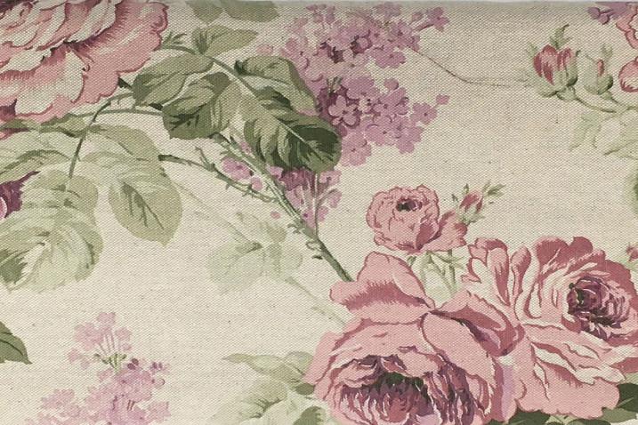 Tovaglia Effetto lino Rose rosa