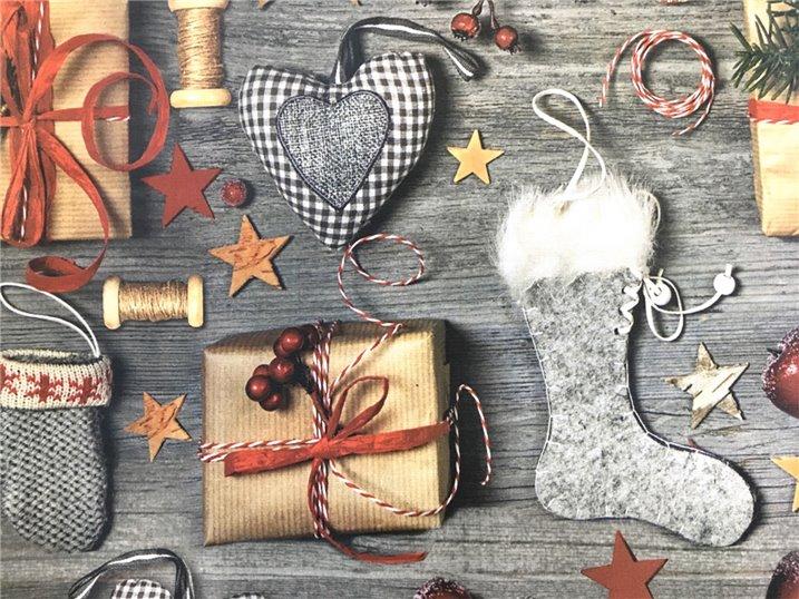 Tovaglia Pacchi di Natale Digitale